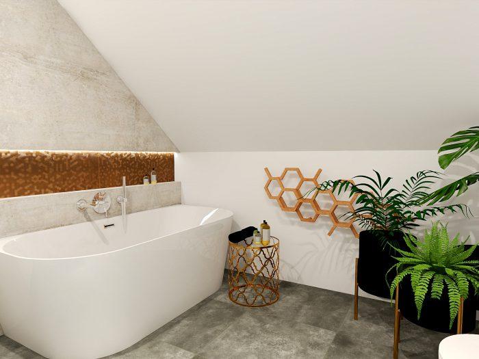 Projekty łazienek - Fabo